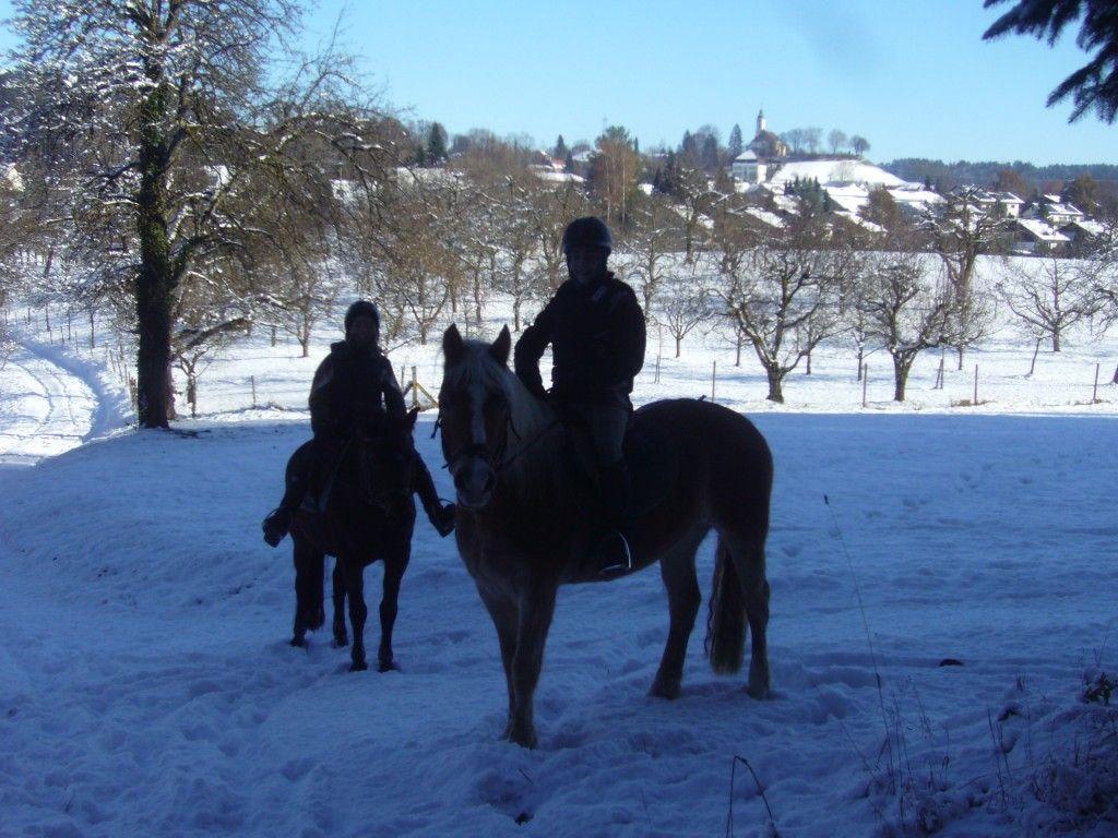 Urlaubsstimmung im winterlichen Bodnegg